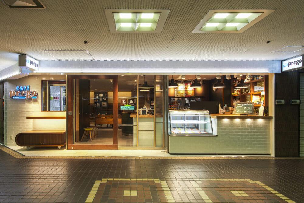CAFÉ Prego 緑地店